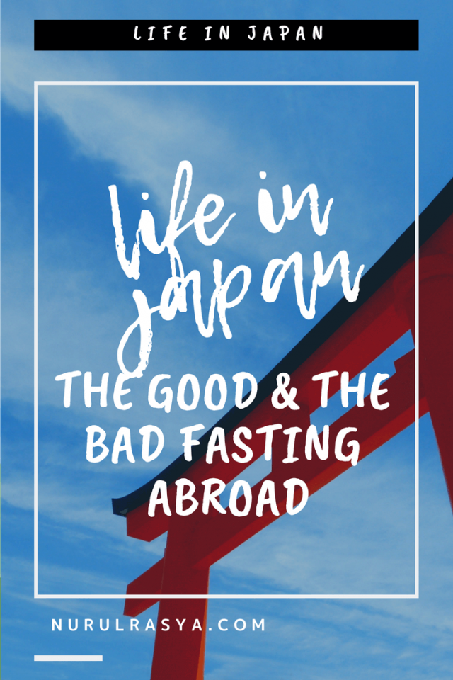 Life In Japan The Good & The Bad Fasting Abroad