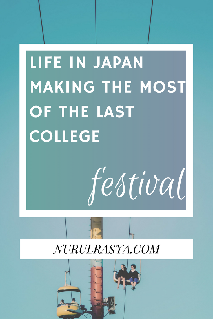 Life In Japan | Making The Most of the Last College Festival