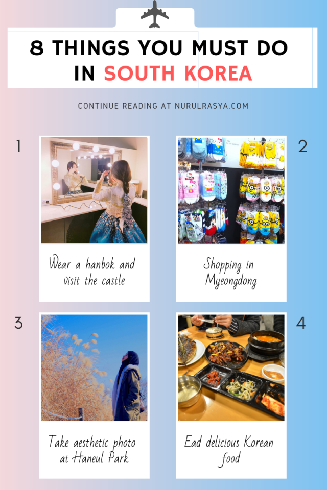 8 Things You Must Do In Korea INFOGRAPHIC 1