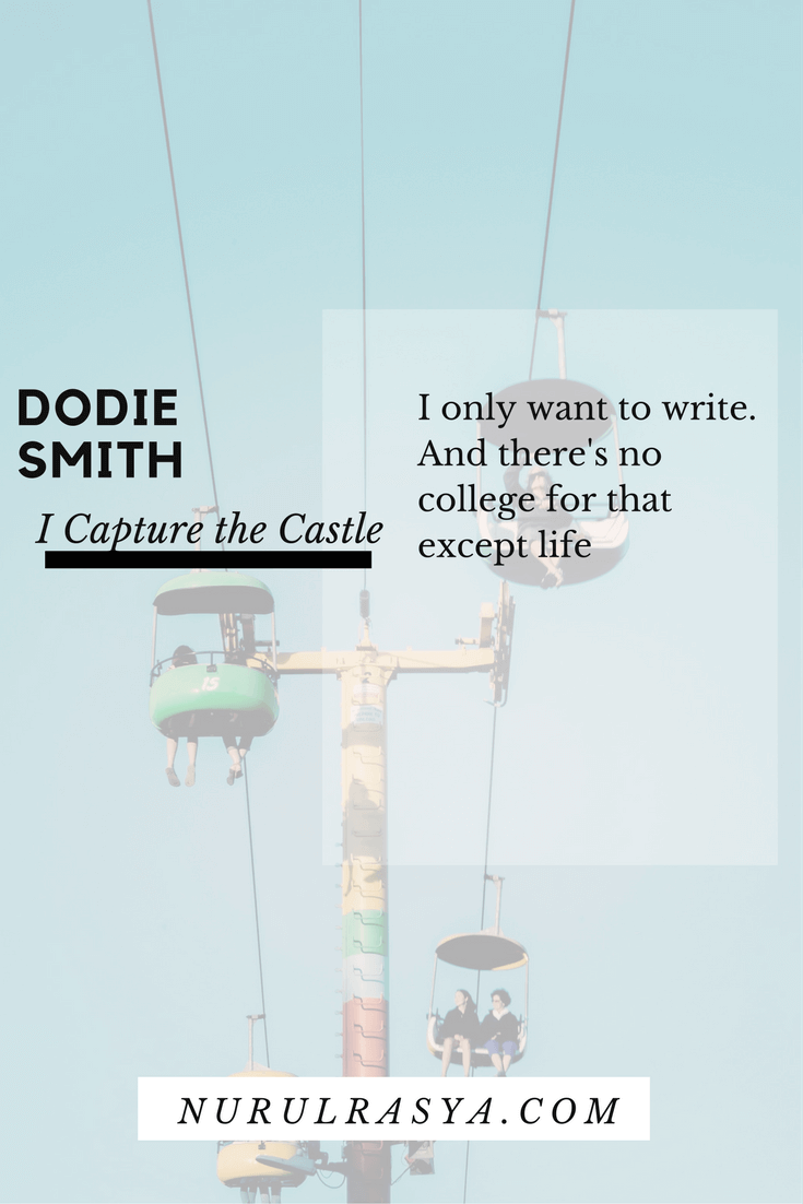 Book Quotes Dodie Smith I Capture the Castle