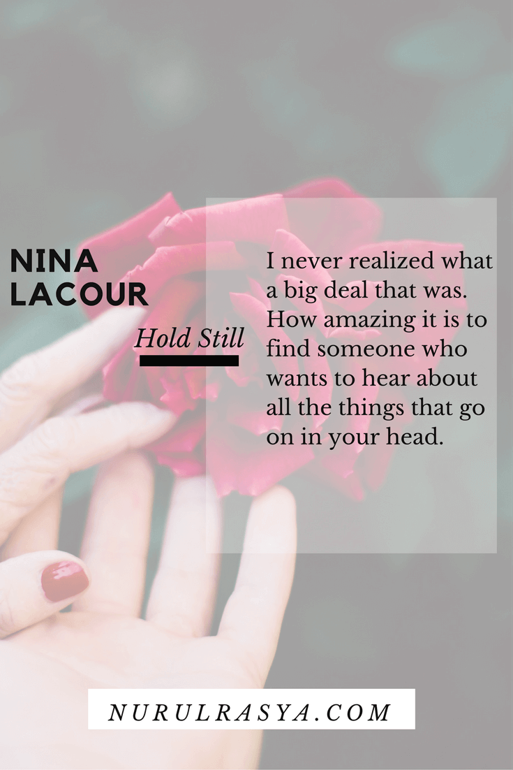 Book Quotes Nina Lacour Hold Still
