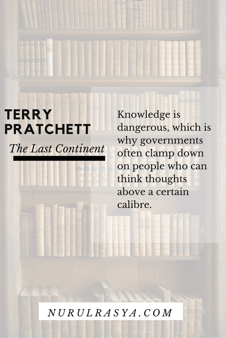 Book Quotes Terry Pratchett The Last Continent