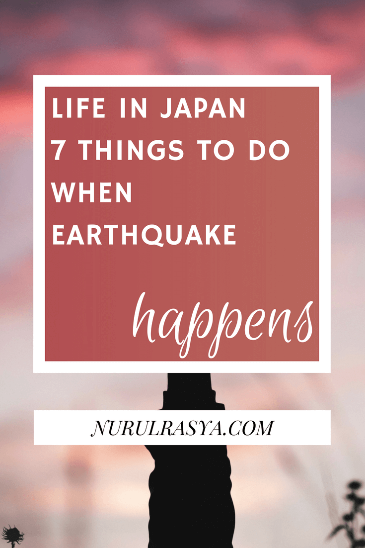 Things To Do When Earthquake Happens