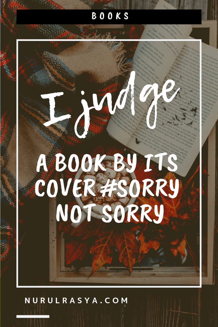 I Judge A Book By Its Cover