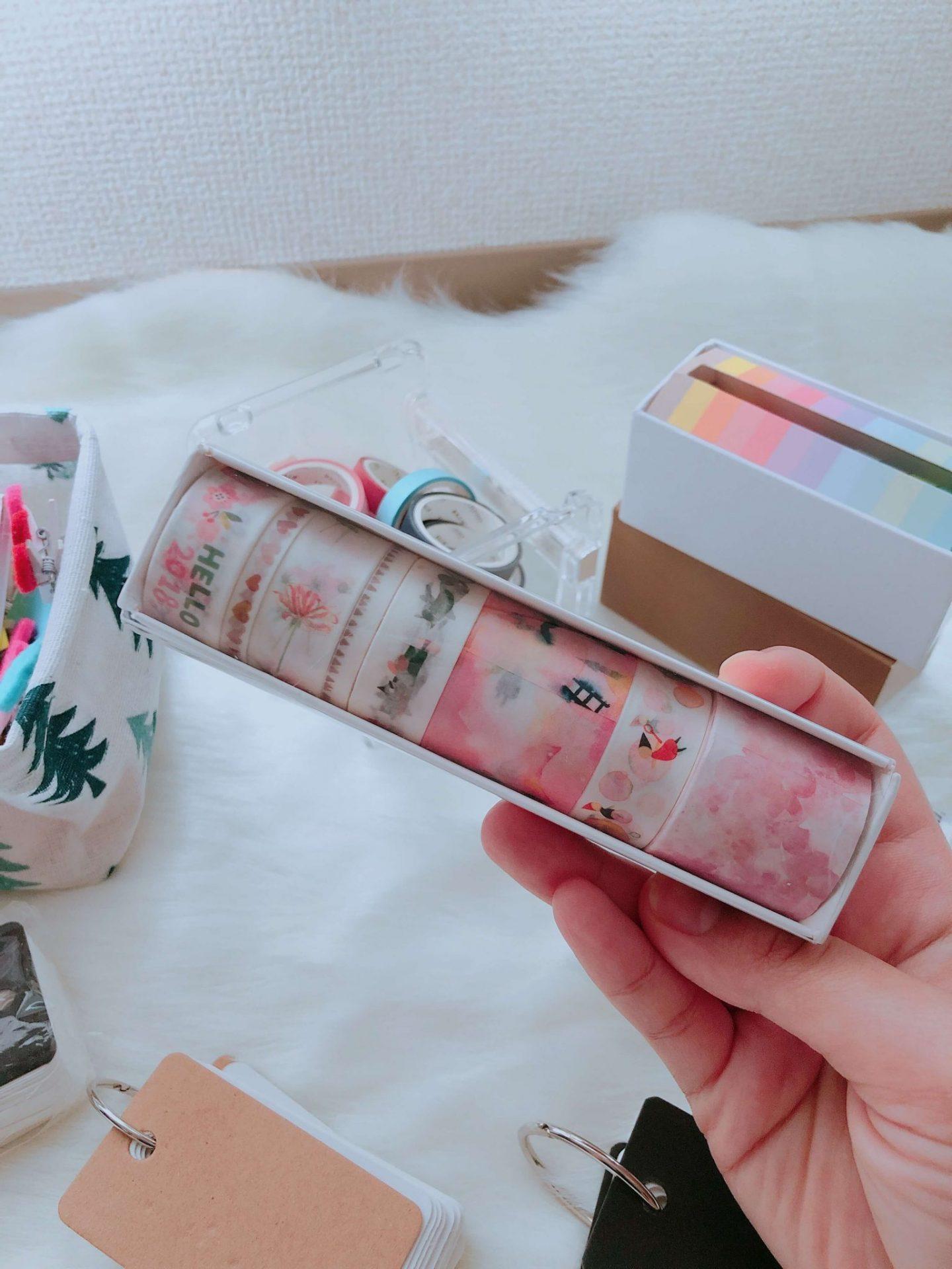 Cute pink washi tape