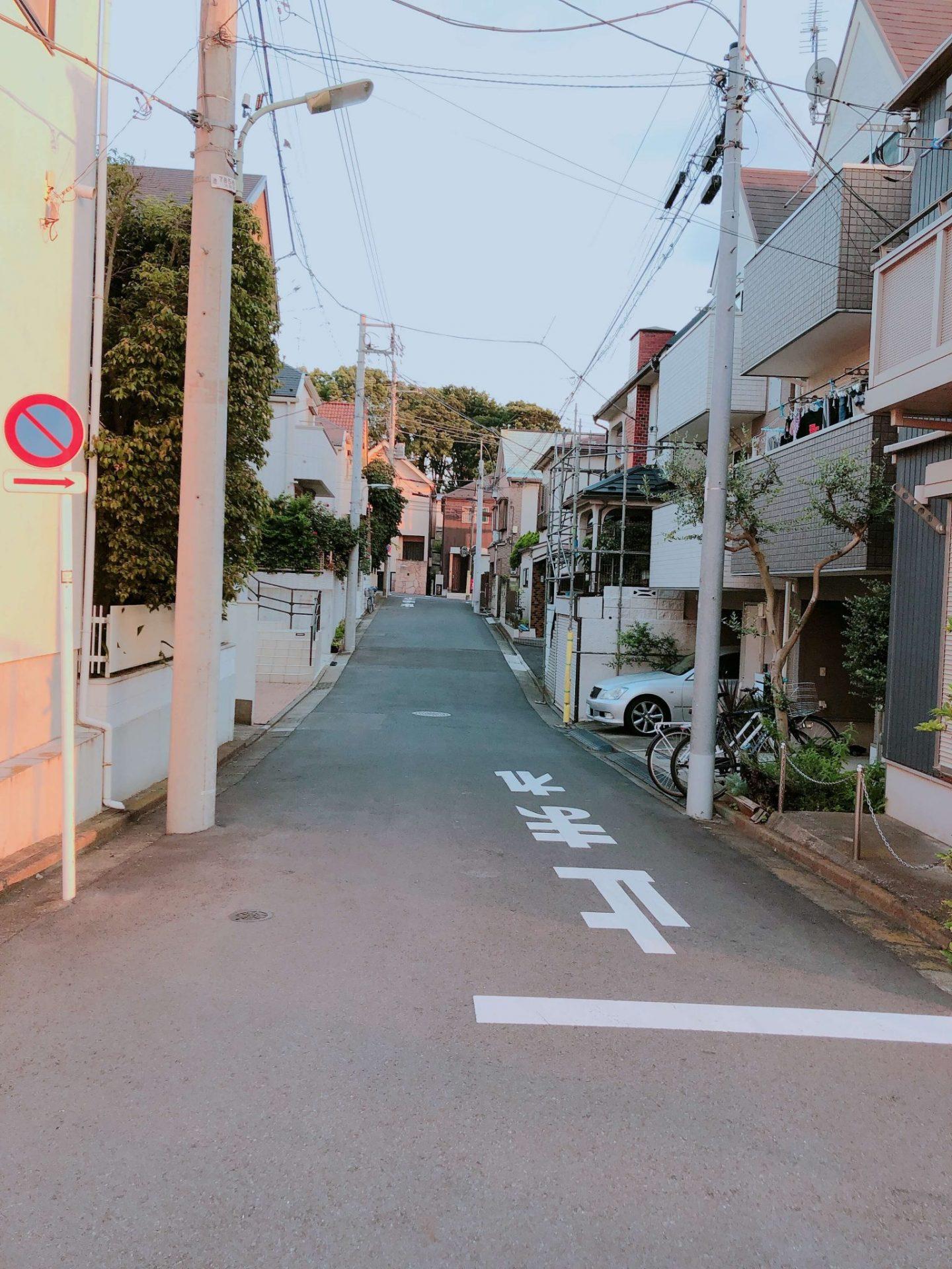 Sunset photo in Japan neighbourhood