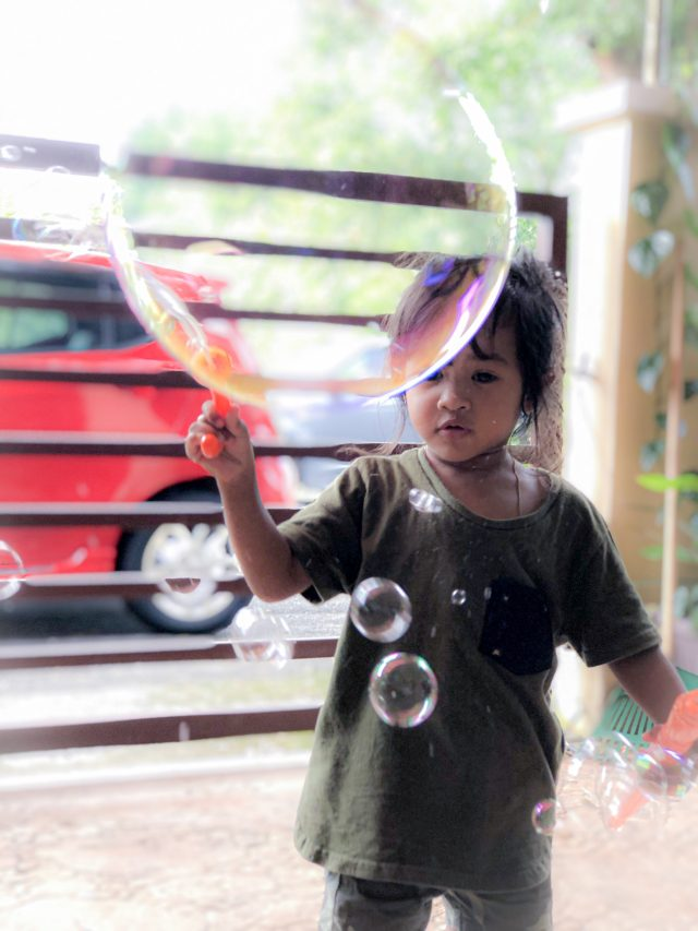 Niece With Balloon