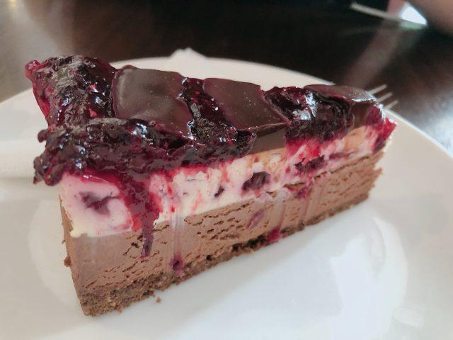 Choc Berry Cheese Cake
