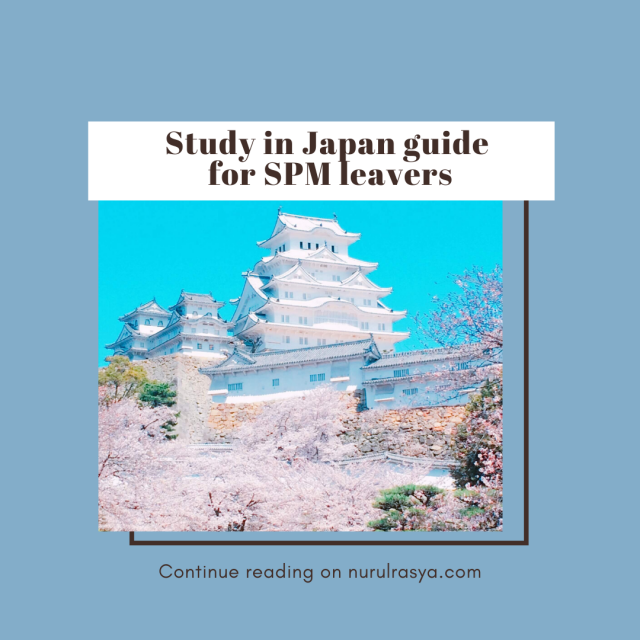 Study In Japan Guide For SPM Leavers