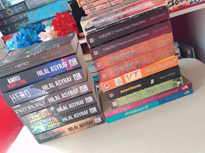 Hilal Asyraf's books collection