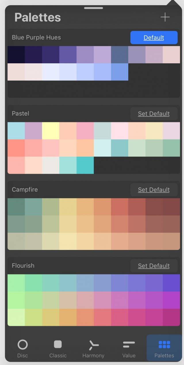 My Procreate Palettes
