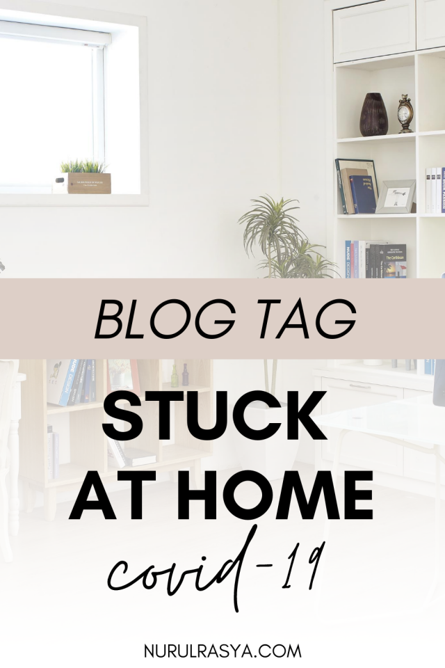 Stuck At Home Blog Tag