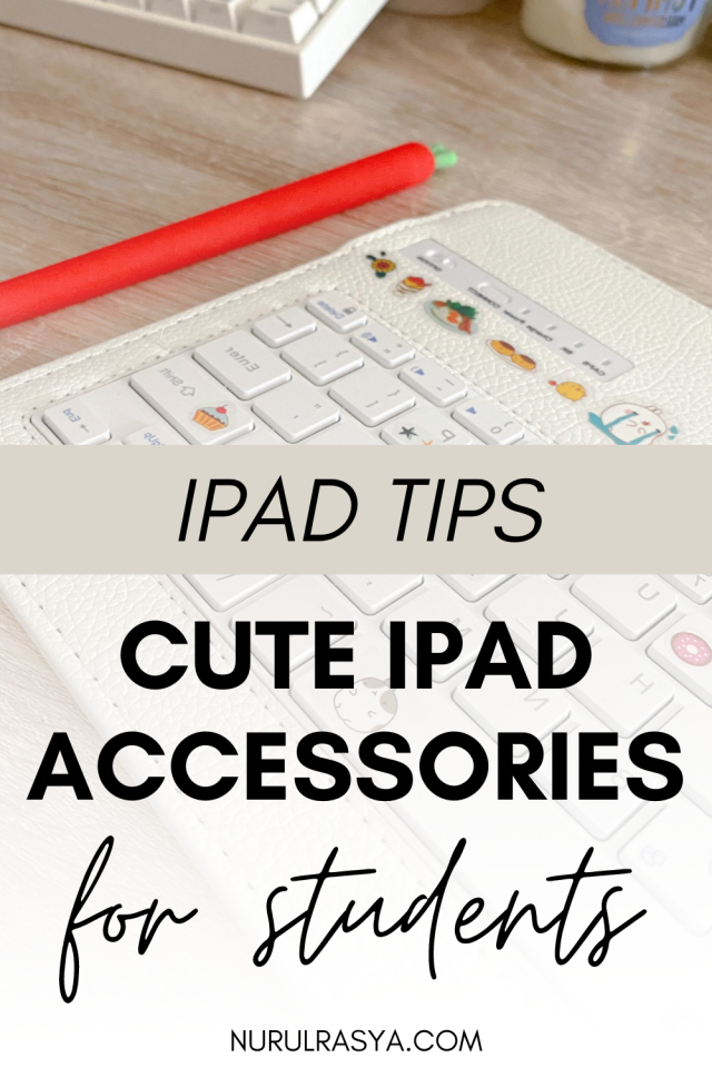 Cute iPad Pro Accessories For Students