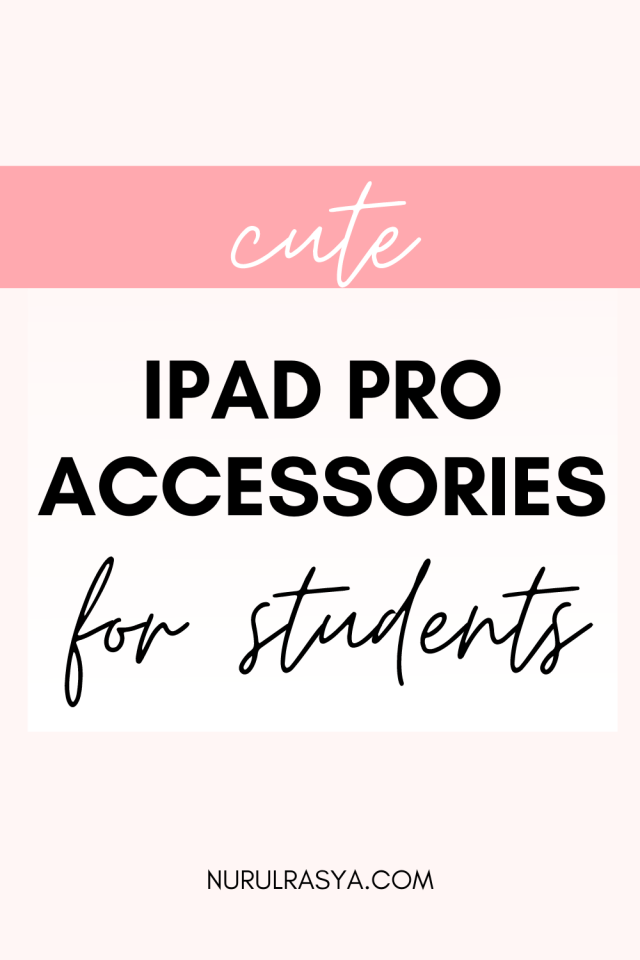 Cute iPad Pro Accessories copy