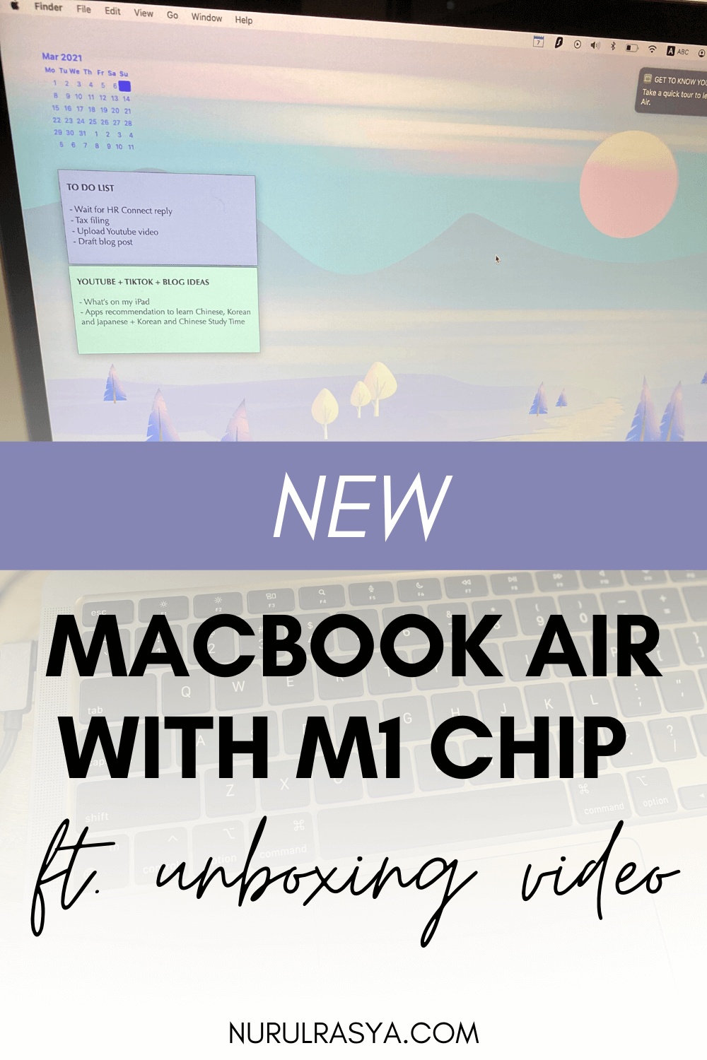 New MacBook Air M1 Chip Feat Unboxing Video